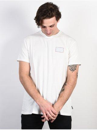 Billabong NAIROBI BONE pánské triko s krátkým rukávem - bílá