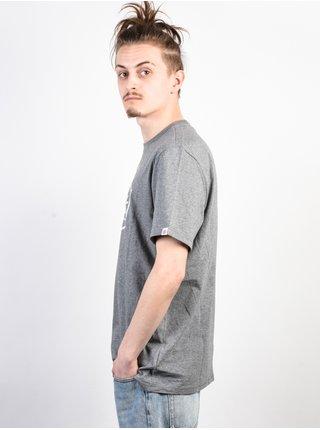Element SLAB grey heather pánské triko s krátkým rukávem - šedá