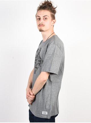 Element ROLLING grey heather pánské triko s krátkým rukávem - šedá