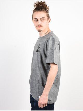 Element PAINTED grey heather pánské triko s krátkým rukávem - šedá