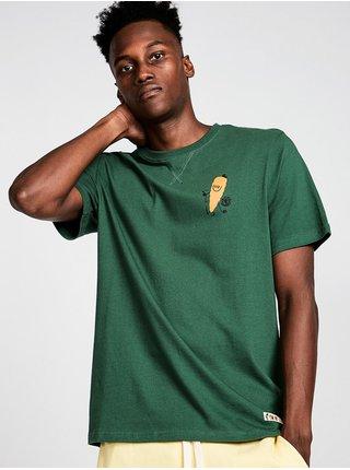 Element YAWYD HEALTHY KALE pánské triko s krátkým rukávem - zelená