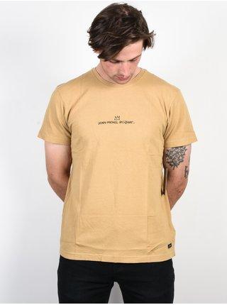 Billabong 83 STRAW pánské triko s krátkým rukávem - béžová