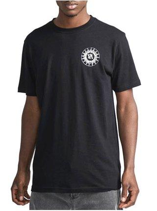 RVCA TIGRE black pánské triko s krátkým rukávem - černá