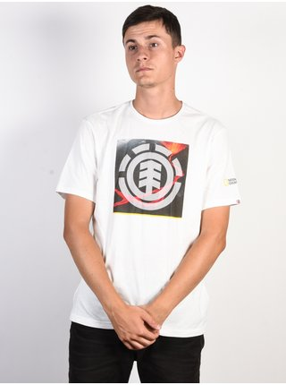 Element SURGE ICON off white pánské triko s krátkým rukávem - bílá