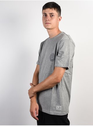 Element TOO LATE LOGO grey heather pánské triko s krátkým rukávem - šedá