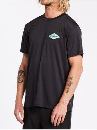 Billabong SUPPLY WAVE  black pánské triko s krátkým rukávem - černá