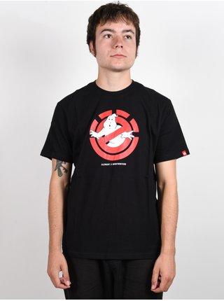 Element GHOSTLY FLINT BLACK pánské triko s krátkým rukávem - černá