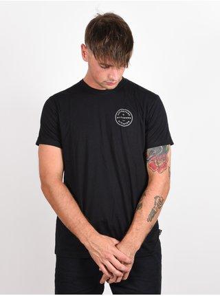 Billabong ROTOR ADIV black pánské triko s krátkým rukávem - černá