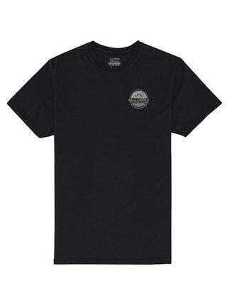 Billabong DAYBREAK black pánské triko s krátkým rukávem - černá