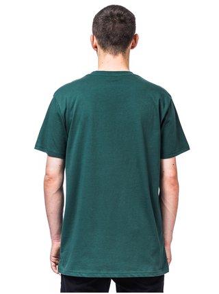 Horsefeathers SACRIFICE smoke pine pánské triko s krátkým rukávem - zelená