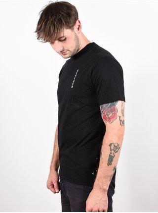 Rip Curl KFISH ART black pánské triko s krátkým rukávem - černá