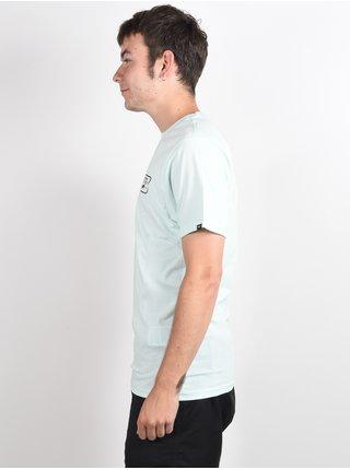 Vans FULL PATCH BACK BAY pánské triko s krátkým rukávem - zelená