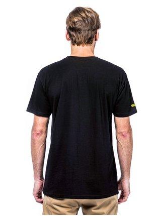 Horsefeathers HANES ATRIP black pánské triko s krátkým rukávem - černá
