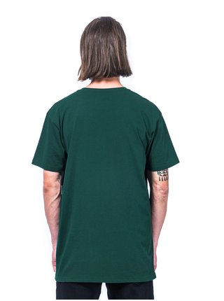 Horsefeathers QUARTER JUNGLE GREEN pánské triko s krátkým rukávem - zelená