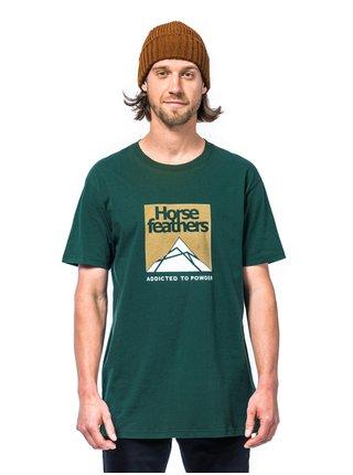 Horsefeathers LEX JUNGLE GREEN pánské triko s krátkým rukávem - zelená
