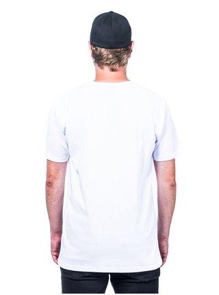 Horsefeathers POW POW white pánské triko s krátkým rukávem - bílá