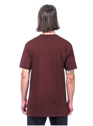 Horsefeathers THACKER RAISIN pánské triko s krátkým rukávem - červená