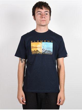 Element SENTINEL ECLIPSE NAVY pánské triko s krátkým rukávem - modrá