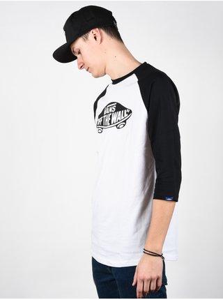 Vans OTW white/black pánské triko s dlouhým rukávem - bílá