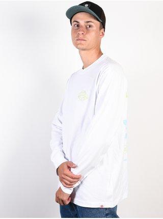 Element DISCOVER OPTIC WHITE pánské triko s dlouhým rukávem - bílá