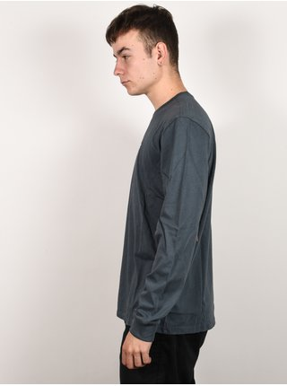 Burton SWEITZER DARK SLATE pánské triko s dlouhým rukávem - šedá
