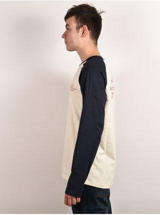 Rip Curl SURF SUPPLY CO. dark blue pánské triko s dlouhým rukávem - černá