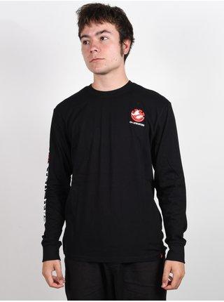 Element BANSHEE FLINT BLACK pánské triko s dlouhým rukávem - černá