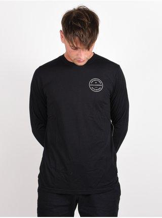 Billabong ROTOR ADIV black pánské triko s dlouhým rukávem - černá