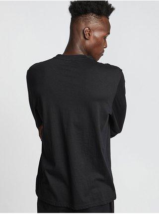 Element SNAKES FLINT BLACK pánské triko s dlouhým rukávem - černá