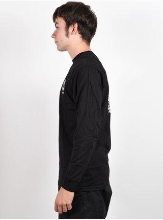 Vans DENNIS ENARSON black pánské triko s dlouhým rukávem - černá