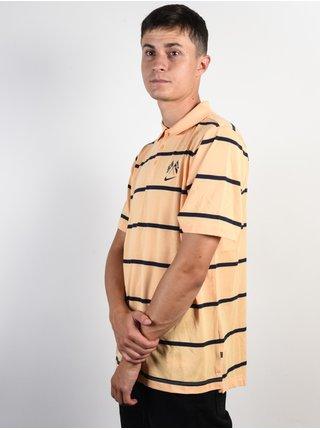 Nike SB DRY POLO JERSEY GOLD/OBSIDIAN pánské polo triko - žlutá