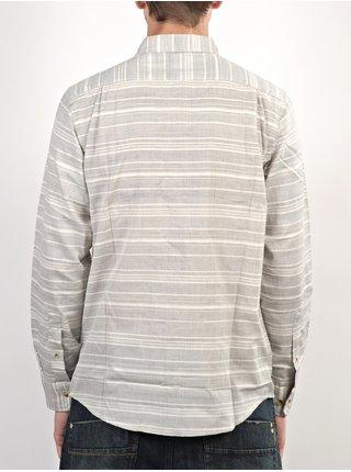 Ezekiel GRIMM OATMEAL košile pro muže krátký rukáv - šedá