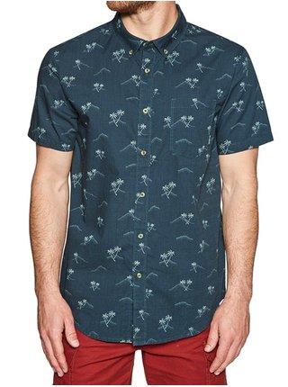Billabong SUNDAYS MINI DARK ROYAL košile pro muže krátký rukáv - modrá