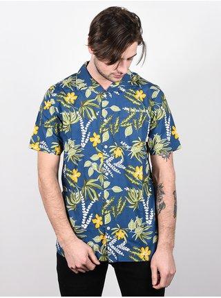 Vans ALDRICH (ANAHEIM FACTORY)OG ALOHA košile pro muže krátký rukáv - modrá