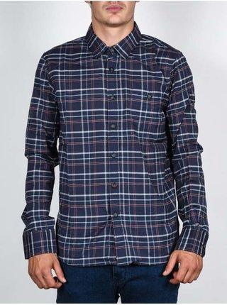 Element BARBEE ECLIPSE NAVY pánské košile s dlouhým rukávem - modrá