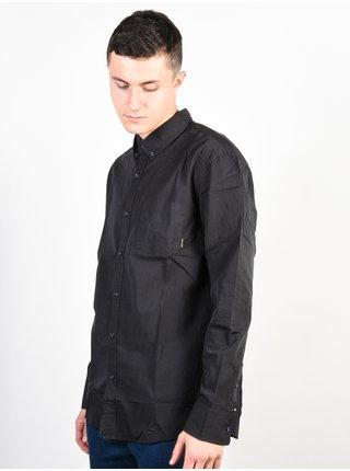 Quiksilver EVERYDAY WILSDEN TARMAC pánské košile s dlouhým rukávem - černá