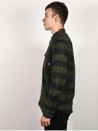 Element TACOMA OLIVE DRAB pánské košile s dlouhým rukávem