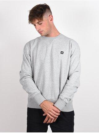 Element 92 grey heather mikiny přes hlavu pánská - šedá