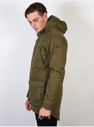 Element ROGHAN PLUS MOSS GREEN zimní pánská bunda - khaki