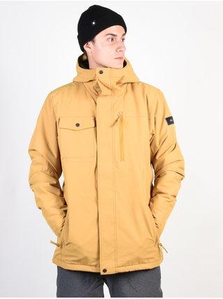 Quiksilver MISSION MUSTARD GOLD zimní pánská bunda - žlutá