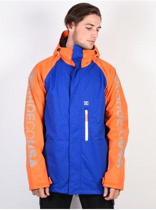 Dc RIPLEY SURF THE WEB zimní pánská bunda - modrá