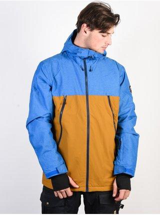 Quiksilver SIERRA GOLDEN BROWN zimní pánská bunda - modrá