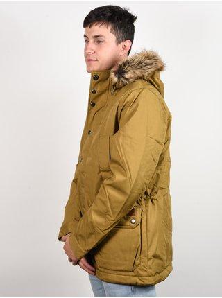 Volcom Lidward 5K DARK KHAKI zimní pánská bunda - khaki