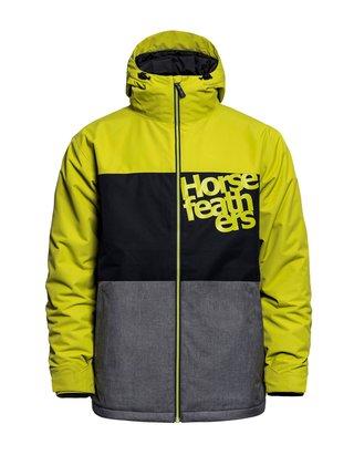 Horsefeathers HALE oasis zimní pánská bunda - černá