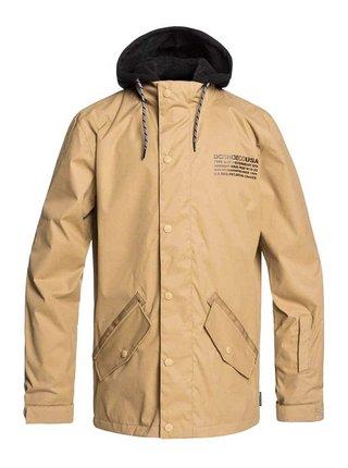 Dc UNION KELP zimní pánská bunda - béžová