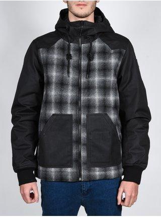 Element DOCTON FLINT BLACK podzimní bunda pro muže - černá