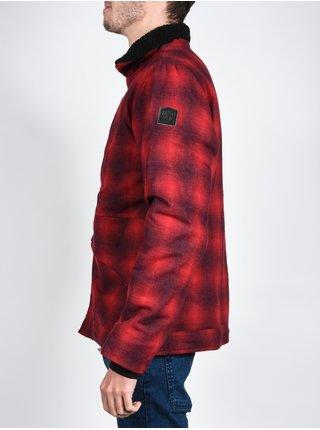 Element BOWDEN FIRE RED podzimní bunda pro muže - červená