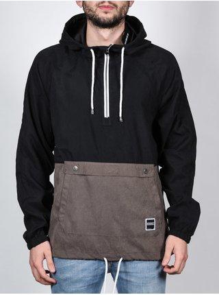 Ezekiel Terminal BLK/MUD podzimní bunda pro muže - černá