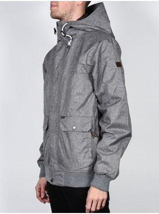 Billabong RAINY DAY grey heather podzimní bunda pro muže - šedá