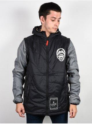 Line Gun Show black podzimní bunda pro muže - černá
